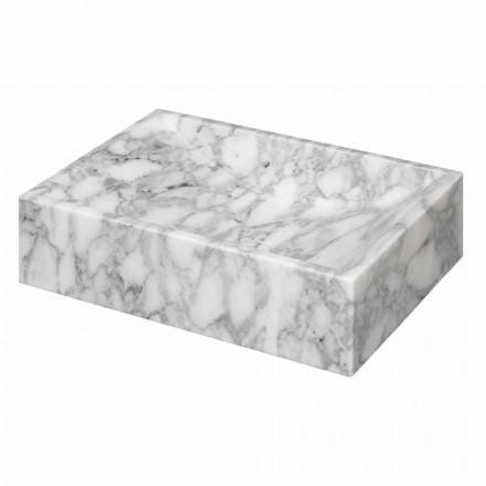 Mermeri katror i Carrara Countertop Washbasin Ma de në Itali - Canova