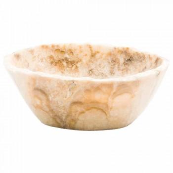 Countertop gur i punuar me dorë Onyx Washbasin - Barolo