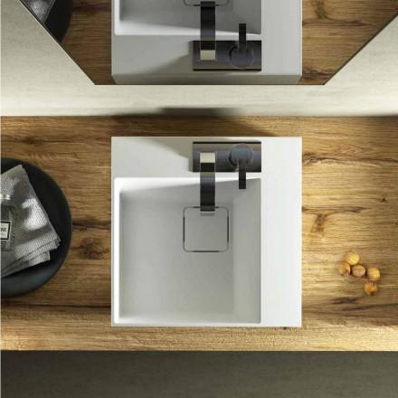 Larja e banjës së banjës me një katror të dizajnit modern bëri 100% në Itali, Lavis