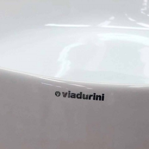 Countertop Washertin qeramike me dizajn modern Made in Italy - Dable