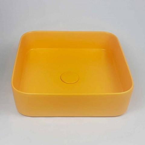 Countertop Washertin qeramike me dizajn modern Made in Italy - Dable