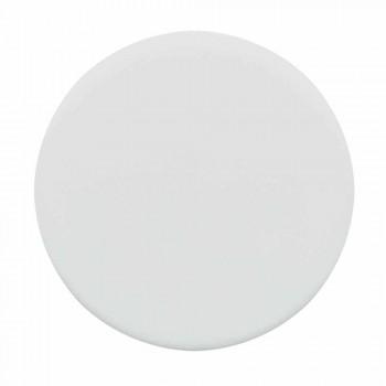 Countertop drejtkëndëshe Washbasin L 80 cm në Qeramikë Made in Italy - Piacione