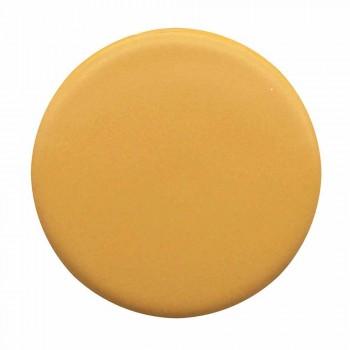Washbasin Lundrues Ovalë Countertop L 50 cm në Qeramikë Made in Italy - Cordino