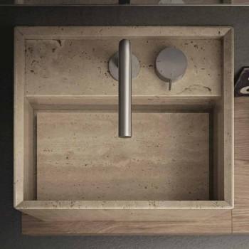 Banjë me banjë banjë me gurë të lartë të dizajnit katror modern - Farartlav2