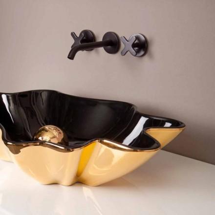 Pellguri countertop countertop i zi dhe ari Rayan, dizajn italian