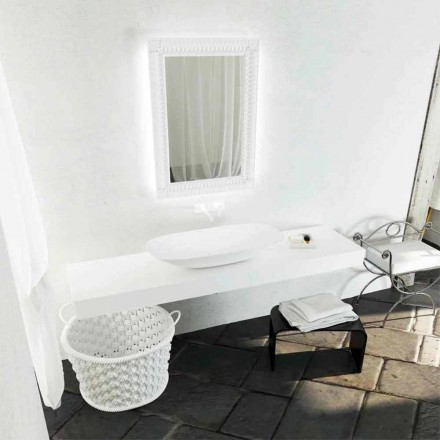 Larje banjo banjo e projektimit modern Taormina Maxi, e bërë në Itali