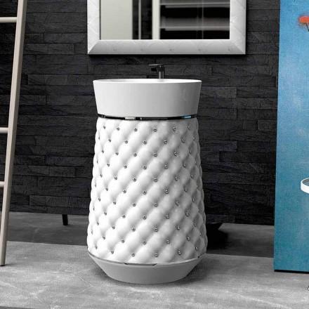 Larje lavash lavanderi moderne e krijuar nga Elizabeth Solid Surface