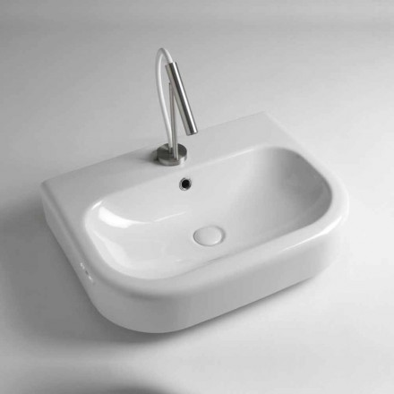 Countertop Washbasin Qeramike Dizajn Vintage Made in Italy - Radiolino