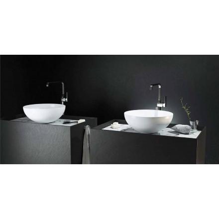Lavamani rrethor i countertop me dizajn modern bëri 100% në Itali, Donnas