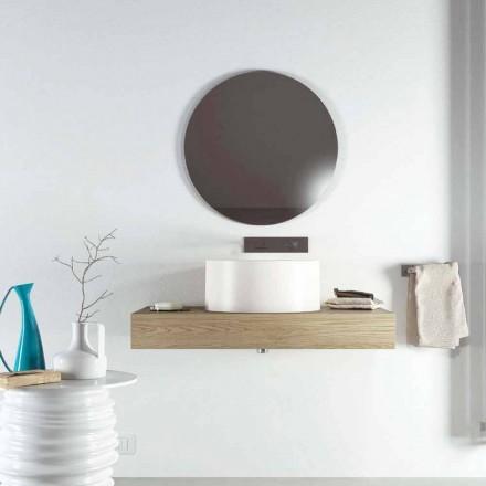 Dizajni i rrumbullakët për banjë të prodhuar 100% në Itali, Forino