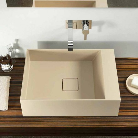 Larje banjo countertop moderne prodhuar 100% në Itali, Lavis