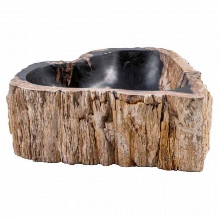 Lavaman countertop i bërë nga druri fosil, Neirone, copë unike