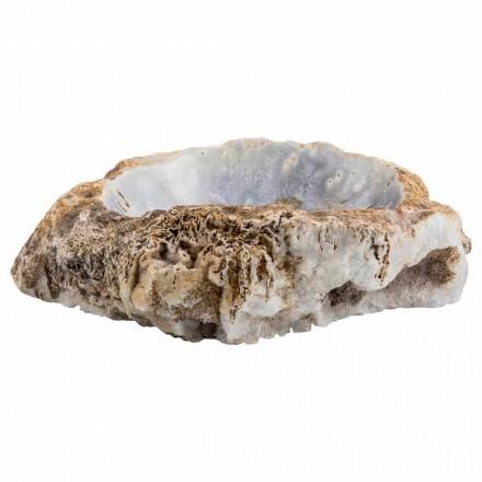 Lavaman banjo me duar të punuara në gur agat, Posina, copë unike
