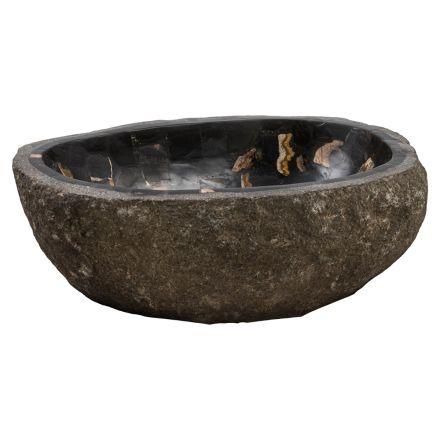 Larje dore për banjë në gur në lumë, Palizzi, copë unike