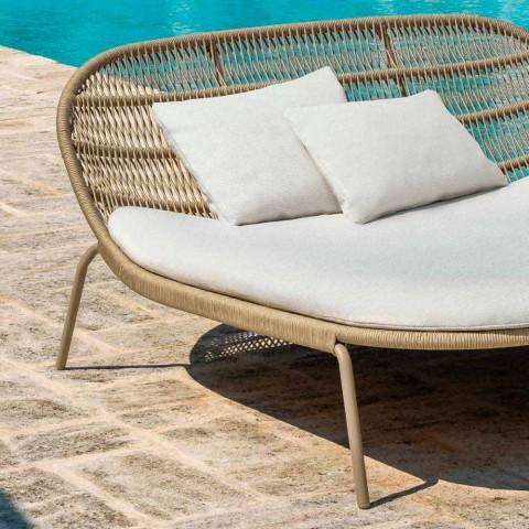 Alumini dhe pëlhura shtrati kopsht të dyfishtë të Stackable - Panama Talenti