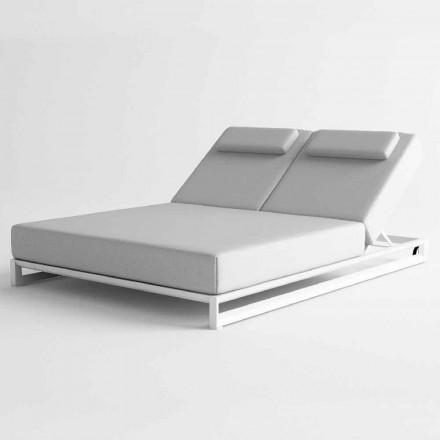 Lounger Sun në natyrë në alumin dhe pëlhurë - Gioacchino