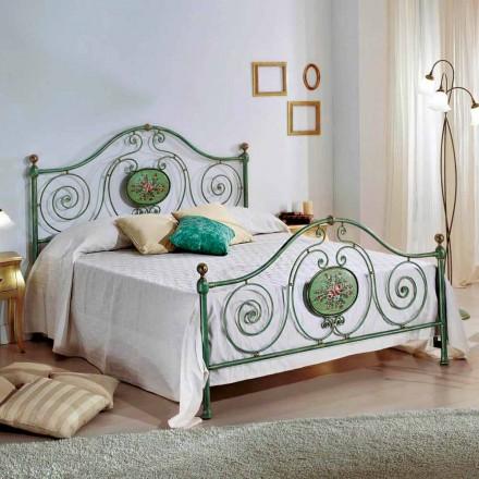 Krevat dopio hekuri i punuar italian Rachael, dizajn klasik