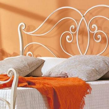 krevat dopio me dizajn Allie hekuri të ngurtë, i bërë në Itali