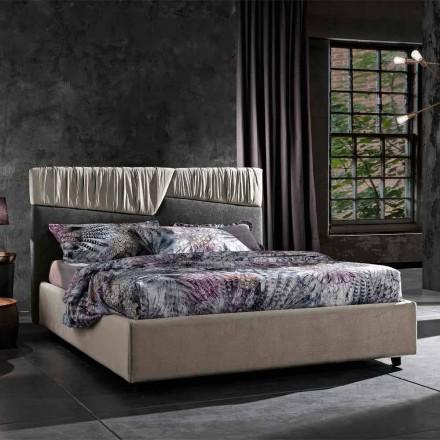 Dizajn Modern krevat dopio me kokë të palosur ose të mbushur me tegela - Alano