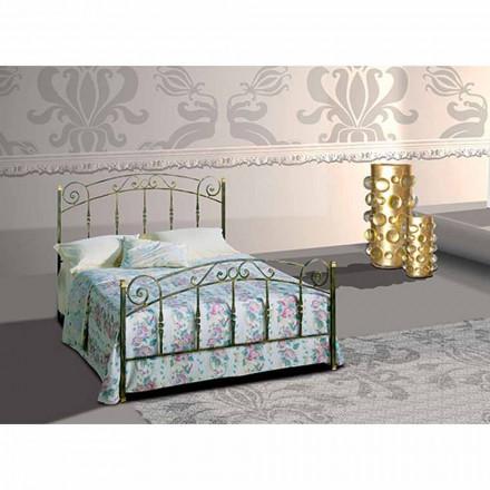 Diamante krevat dopio-hekuri i punuar