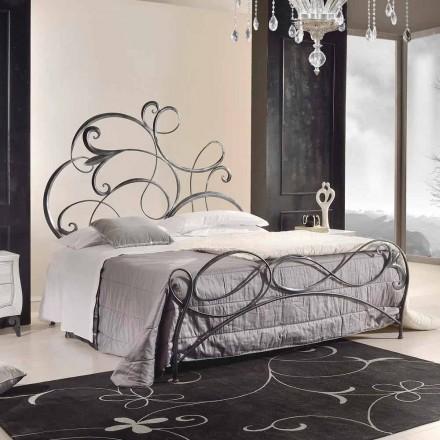 Dizajni klasik hekuri krevat dopio Allison, i punuar me dorë në Itali