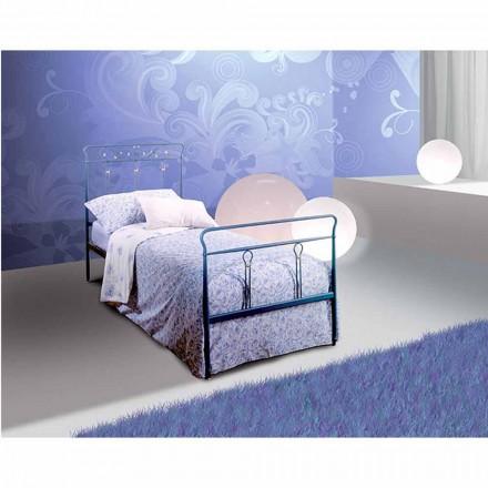 Pan shtrat i vetëm me hekur të punuar