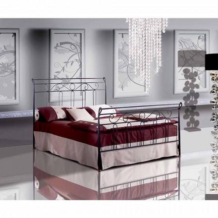 Garofano me shtrat të vogël dyshe të punuar me hekur të punuar