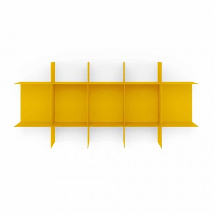 Dizajn Modular Raste librash në mur në metal me cilësi të lartë - Roger