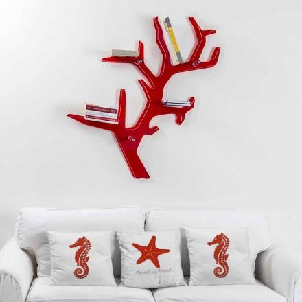 Rroba me karboni me mur të kuq, model modern, i bërë në Itali