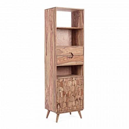 Rafte dyshemeje me dizajn druri Struktura Vintage Homemotion - Ventador