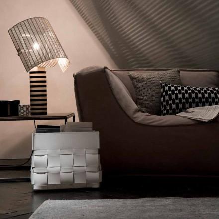 Dizajni Lory, raft i murit të ngritur në mur, i bërë në Itali