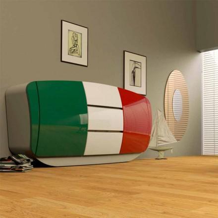 Dollap dizajni modern Bum, i bërë tërësisht në Itali