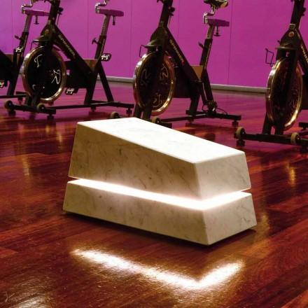 Ndriçues mermeri i plotë me folësin Minimal Sound