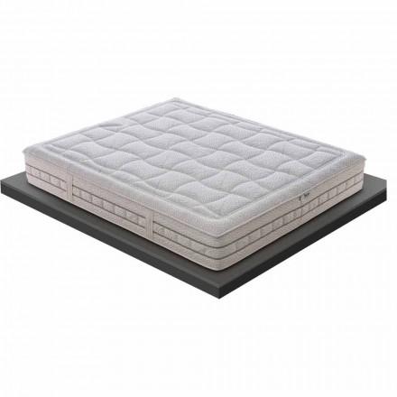 Dyshek i vetëm në Kujtesë Cilësore 25 cm i lartë Made in Italy - Platinum