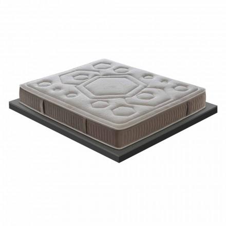 Dyshek i vetëm në memorie me cilësi të lartë 25 cm i lartë Prodhuar në Itali - Portokalli