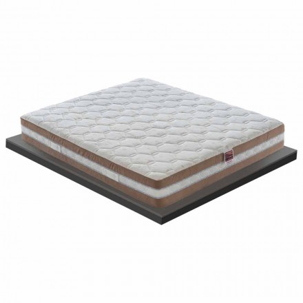 Memory Luksoze Single Mattress 25 cm e lartë Made in Italy - Qymyr druri