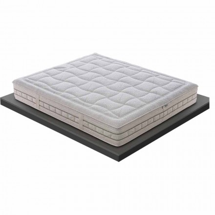 Një dhe një gjysmë dyshek në Kujtesë Luksoze H 25 cm E bërë në Itali - Platinum