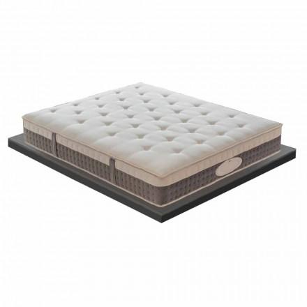 Një dhe një gjysmë dyshek në memorie me cilësi të lartë H 25 cm - Silvestro