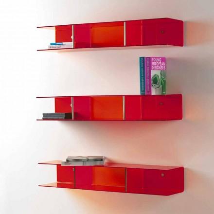 Raft muri me dizajn modern Taira, i bërë nga metakrilat transparent