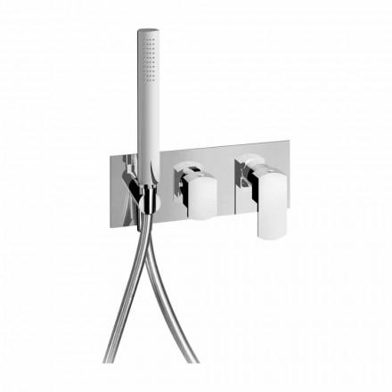Përzierës dushi i integruar në dizajn modern në tunxh prodhuar në Itali - Sika