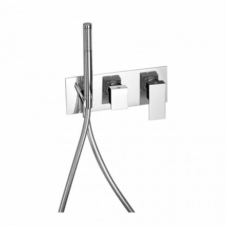 Mikser dushi i integruar me devijues bronzi prodhuar në Itali - Panela