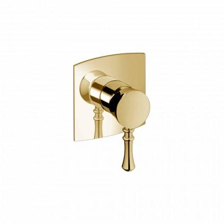 Mikser dushi i integruar në tunxh Dizajn modern i prodhuar në Itali - Neno
