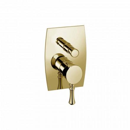 Dizajni Mixer Dushi ose Vaske prej bronzi Prodhuar në Itali - Neno