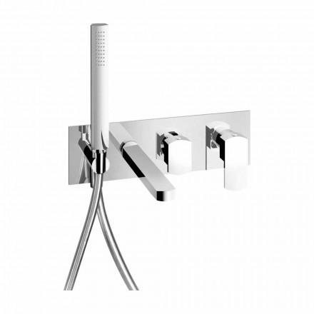 Përzierës banje i integruar në dizajn modern në tunxh Prodhuar në Itali - Sika