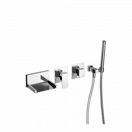 Mikser banje i integruar me komplet dushi prodhuar në Itali - Bibo