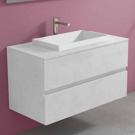 Dollap i varur i banjës me lavaman të integruar, Dizajn modern - Casimira