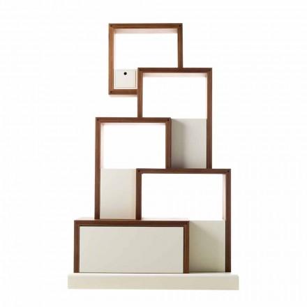 Grilli My Cat dizajn modern mobilje prej druri të ruajtura të bëra në Itali