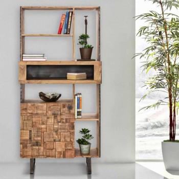 Biblioteka e Dizajnit Mobile në Druri Hekuri dhe Akacie - Desdemona