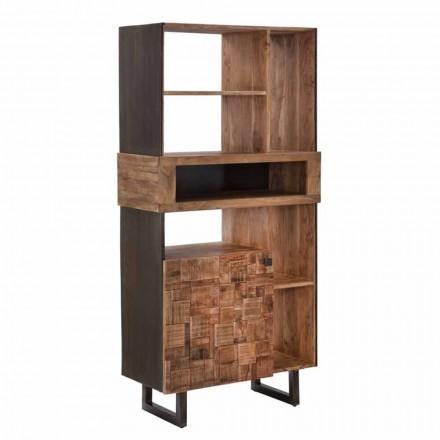Dizajnoni një Librar në Hekur dhe Druri të Akacisë - Desdemona
