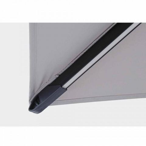 3x3 Çadër e Jashtme në Poliestër Gri dhe Alumini me Ngjyrë Antracit - Coby